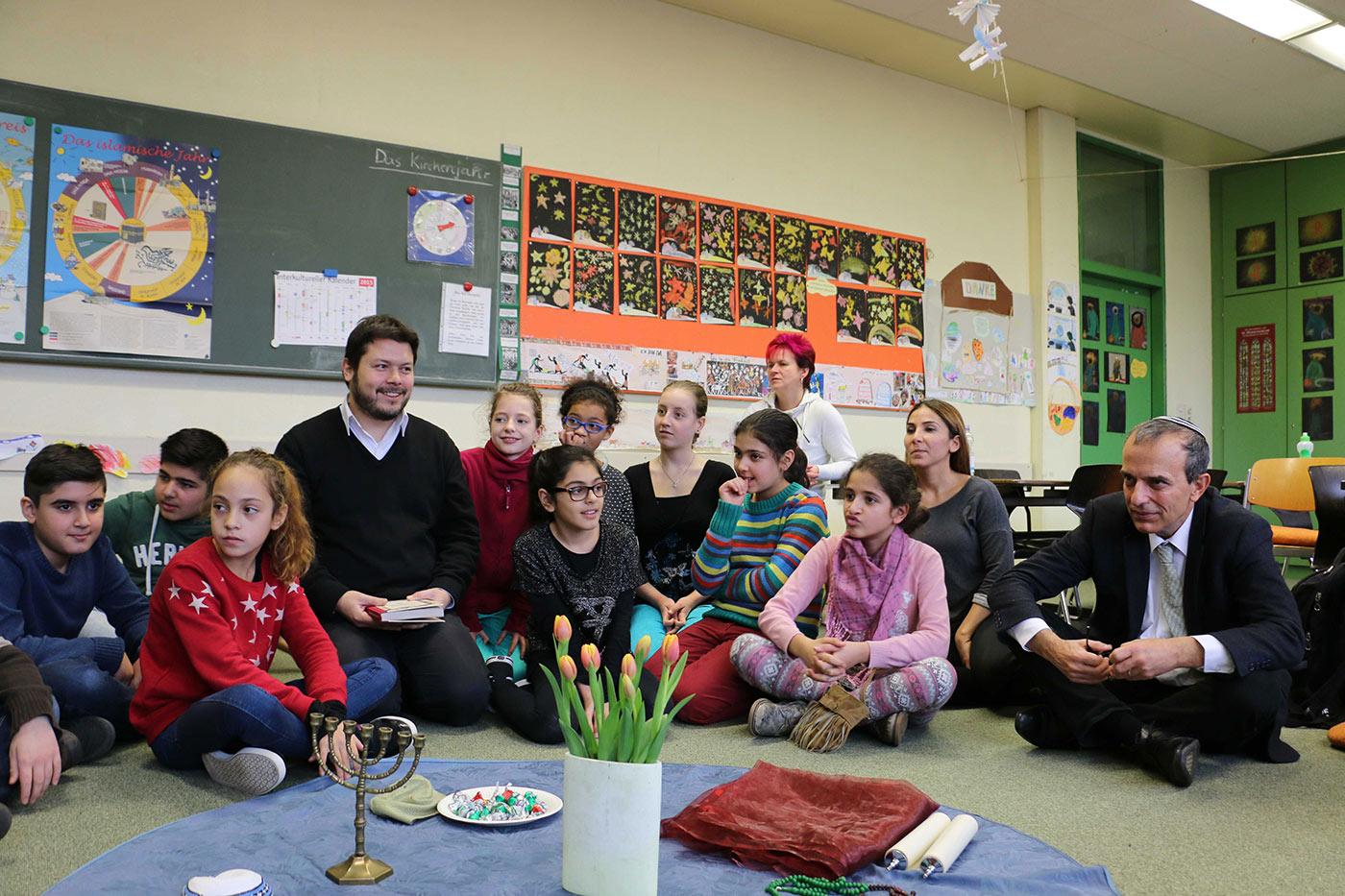 Mierendorff-Schule, 21. Januar 2015