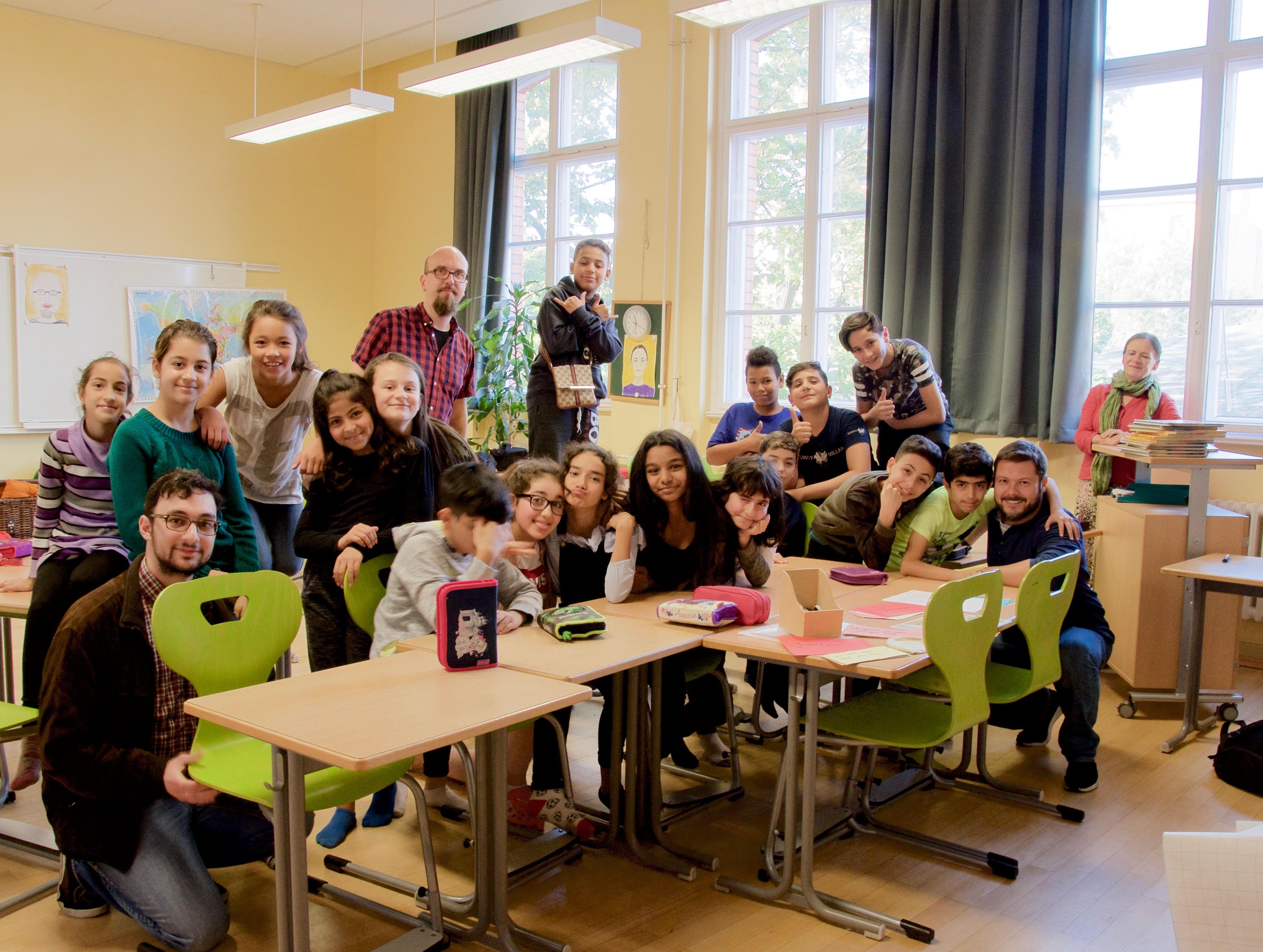 Allegro-Grundschule, Oktober 2017