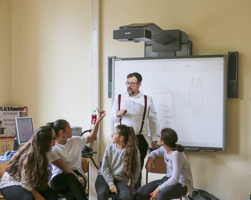 Unterrichtsbesuch Albert-Schweitzer-Gymnasium