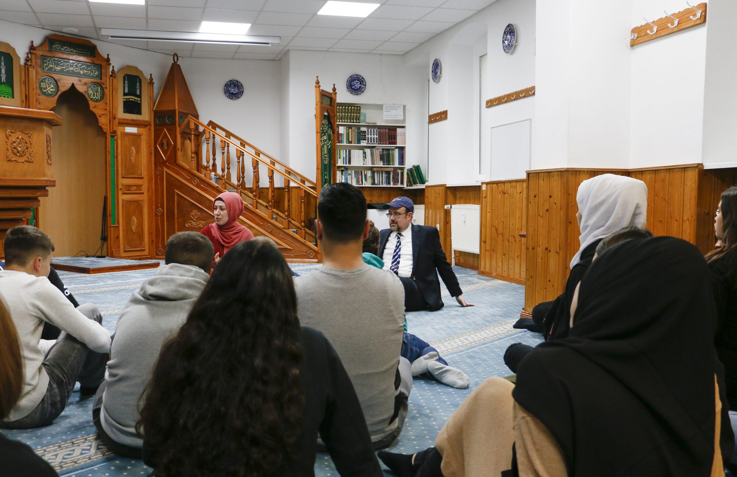 Synagogen- und Moscheebesuch mit der Friedenauer Gemeinschaftsschule